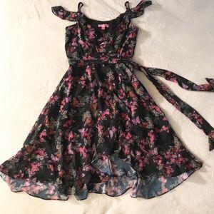 Betsey Johnson Dress, Butterfly Print Dress size 2